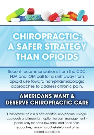 Chiropractic Safer Than Opioids
